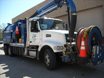 Dallas Sanitary Sewer Cleaning Truck