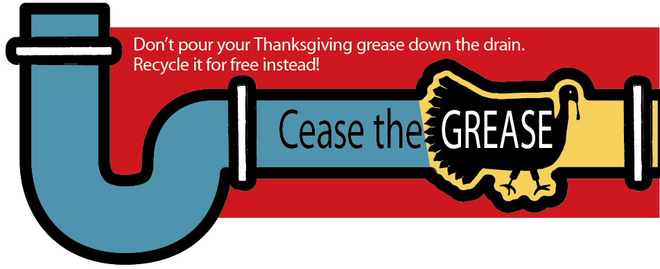 Cease the Grease Collection Event Nov. 28-Jan. 9
